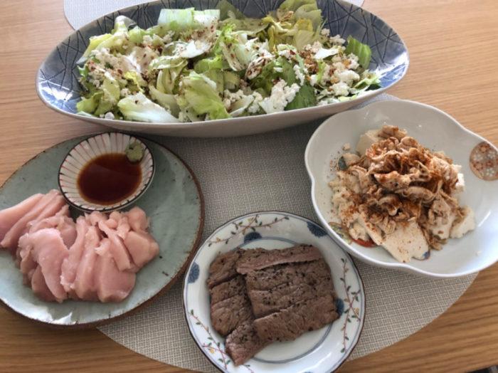 須山翔太郎 食事