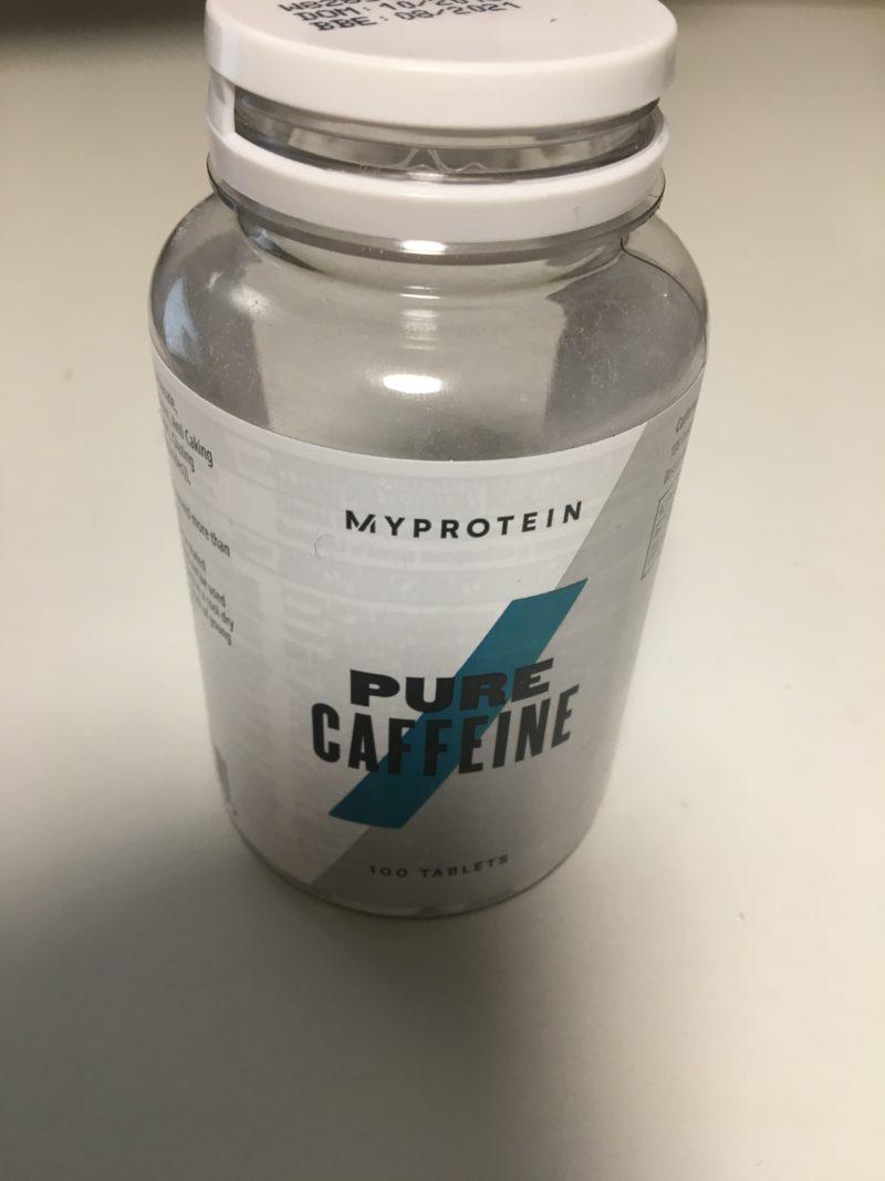 マイプロテイン カフェイン 飲み方