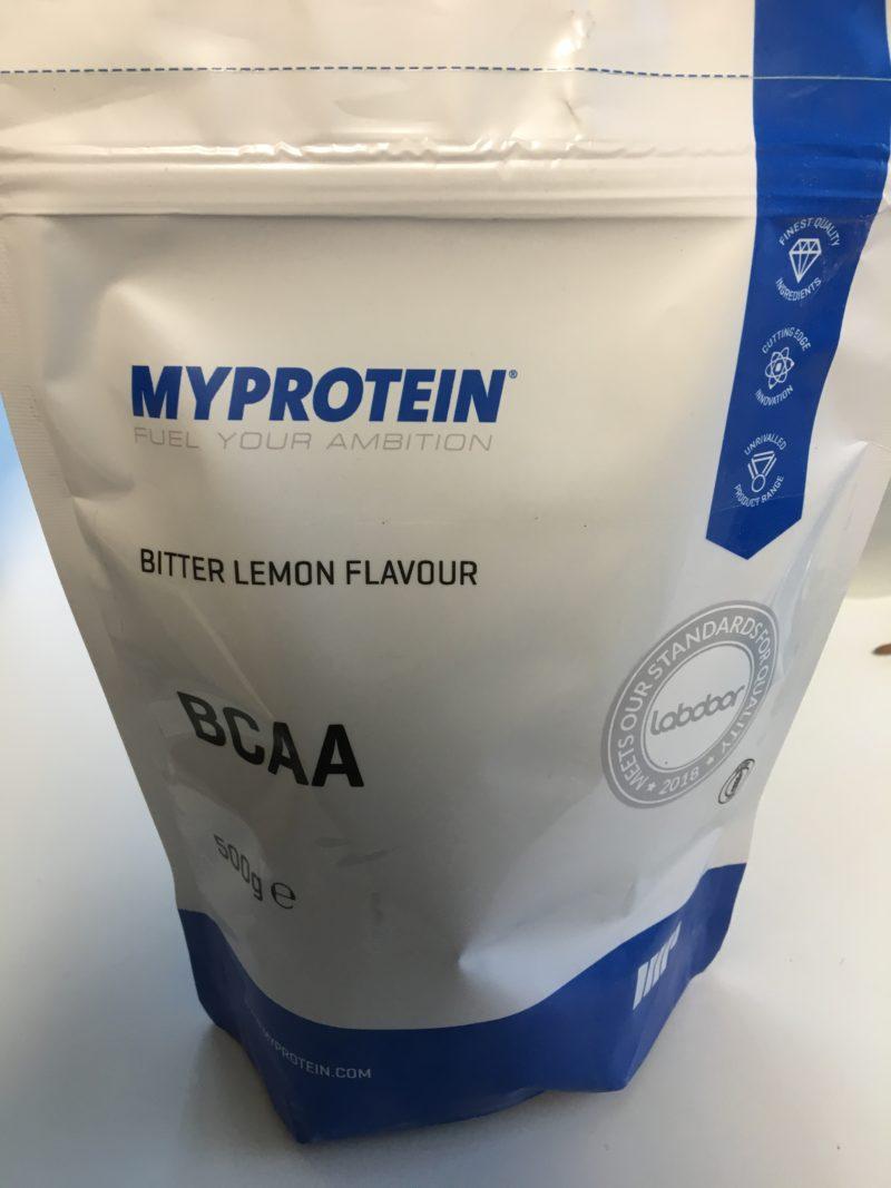 マイプロテイン BCAA ビターレモン味